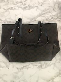 Coach Black/Brown City tote Centreville