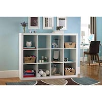 Better Homes and Gardens 12 Cube Storage Organizer, White (New in Box) Fort Wayne