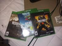 Xbox one game bundle for 40 or black opps for 30   Winnipeg