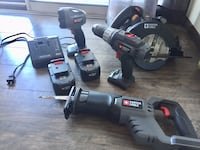 Porter Cable cordless multipack