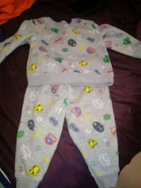 baby's white and green footie pajama Pharr, 78577