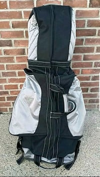 HIGH QUALITY, STRONG & DURABLE PADDED GOLF TRAVEL BAG *ON WHEELS!*