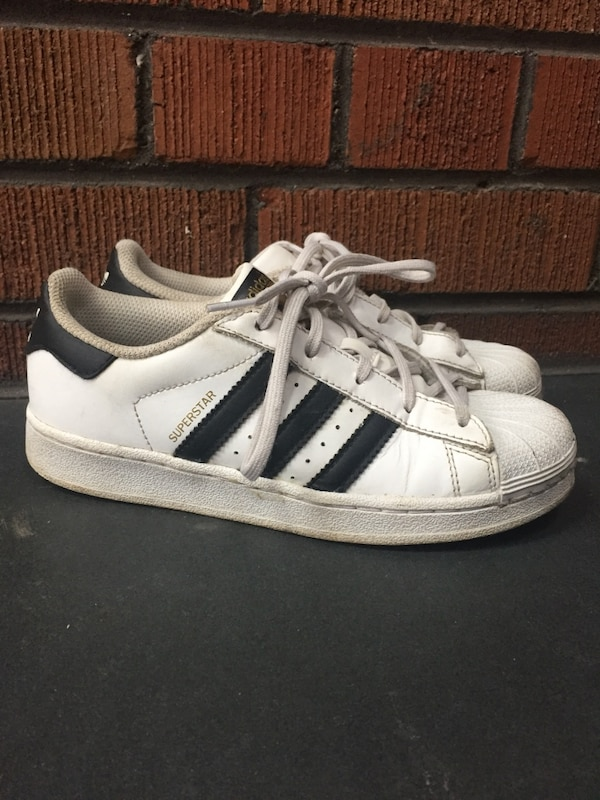 Used Adidas superstars size 3 for sale in Toronto - letgo 4b62065cc03b