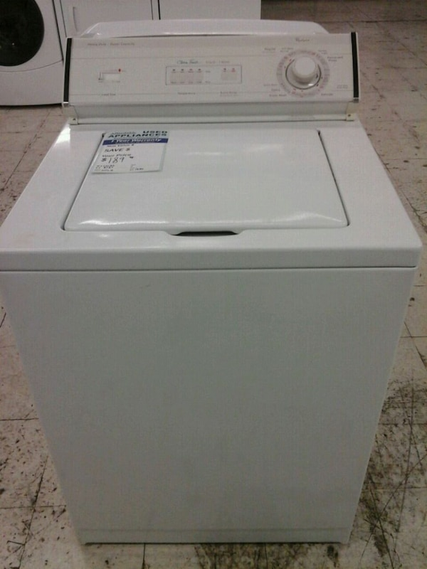Whirlpool washing machine usado en venta en Westminster - letgo
