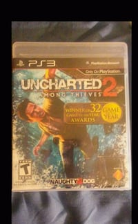 PS3 Uncharted game.