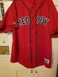 Vintage Red Sox Majestic Jersey Size XL Mens Quincy, 02169