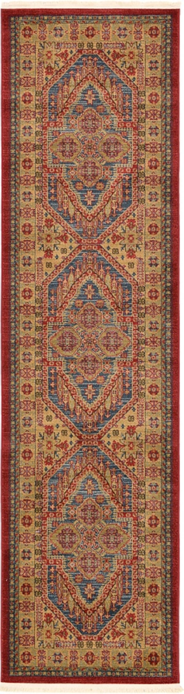 Brand new carpet runner size 2.7x10 nice blue rug runners 26017a59-be4a-4d7b-90ad-f001c262979f