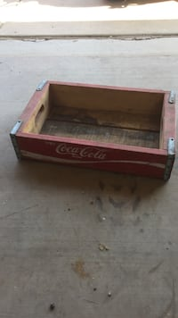 Antique Coca Cola Crate Amarillo, 79101