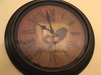 Battery operated wall clock Rolesville, 27571