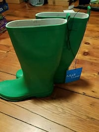 green tall boots NWT - size 9 Westminster, 21158