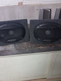 pair of grey Pioneer speakers Kamloops, V2B 5A4
