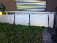 rectangular gray-metallic board Fort Myers