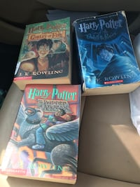 Harry Potter books 1-5 used