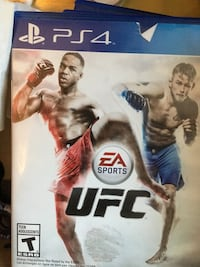 Sony PS4 UFC game case