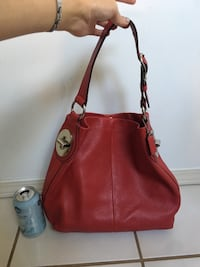COACH red leather hobo bag Edmonton, T5K 1W4