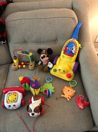 toddler's assorted toys Mobile, 36695