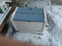 white and brown wooden chest Winnipeg, R3T 5Y4