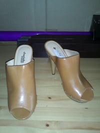 Brand new Charlotte Russe slip-on with 2 inch heel. size 8  Montreal, QC, Canada