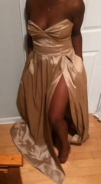 Gold Special Occasion Dress Annandale, 22003