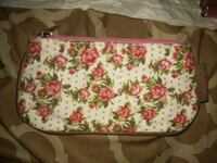 white, pink, and green floral bag Bakersfield, 93307