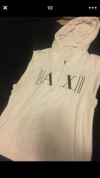 white and black Under Armour pullover hoodie Rockville, 20850