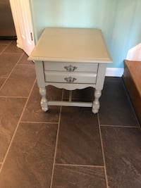 Grey Nightstand / End Table / Side Table Chesapeake, 23320