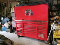 red and black tool cabinet Stockton, 95205