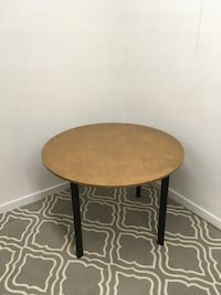round brown wooden side table Abbotsford, V2T 2H4