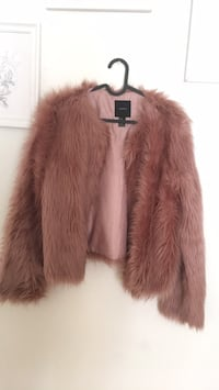 Faux coat forever 21