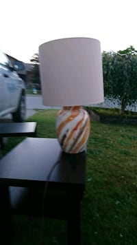 white and green table lamp Abbotsford, V2S 6G4