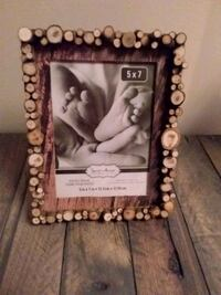 Wood Splice 5×7 Picture Frame