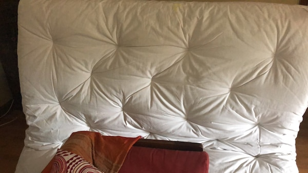 futon  mattress double  not used