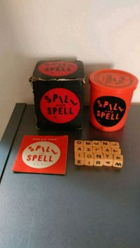 Vintage spill and spell 1957 Chicago, 60641