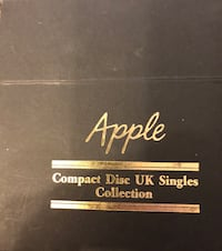 APPLE BOX SET U.K. COMPACT DISCS BEATLES & VARIOUS ARTISTS Reston, 20191