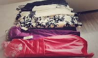 Dresses Sizes are small and Xsmall.  NEW 50D NEW/NO TAGS 35 USED 25 Alexandria, 22311