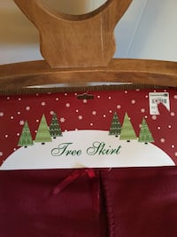 Soft felt tree skirt Frederick, 21701