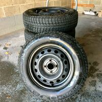 4x Michelin X-ice w/ org. Honda Civic rims Toronto, M2M