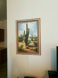 """42""""x30"""" painting and frame Prescott, 86301"""