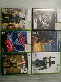 Xbox 360 used games negotiable
