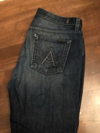 Mens 7 For All Mankind 'A' pocket boot jeans