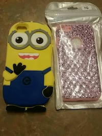 Minion and pink iPhone cases for IPhone 7s
