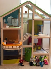 Hair doll house with furniture  Alexandria, 22304