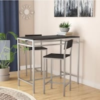Brand new Pre-assembled modern luxury high quality dining table with 2 chairs Vaughan, L4J 6G2