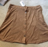 Brown button-up skirt  Damascus, 20872