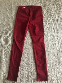 red and white Adidas track pants New York, 11226