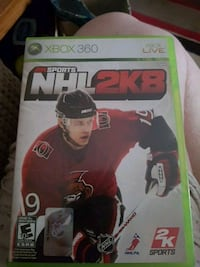 Xbox 360 NHL 2KB game case London, N5V 2C1