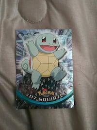 #07 Squirtle TV Animation Edition card Columbus, 53925