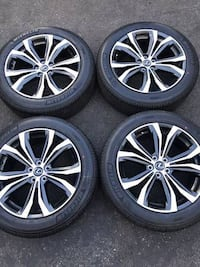 """20"""" Lexus RX350 RX450h factory wheels and tires new  2258 mi"""