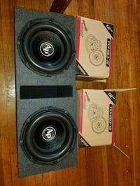 """TRIPLE STACK 12"""" AUDIOPIPE SUBS IN VENTED BOX 3600 Bronx, 10470"""