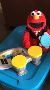 Used Elmo Rocks With Drums And Piano For Sale In Brentwood